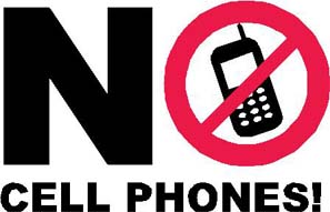 No Cell Phones at Performances